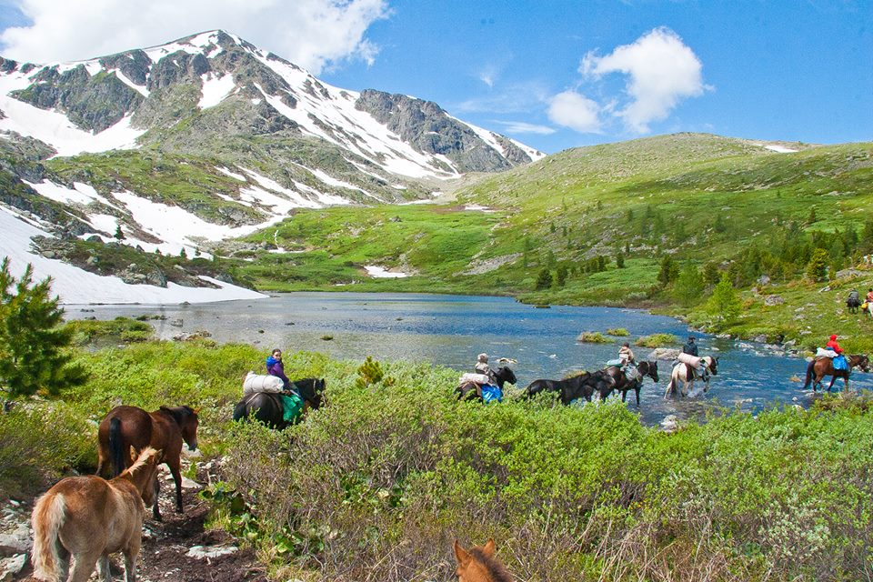 Trip to Altai. 10 Day Horse-Back Tour in June - September 2018